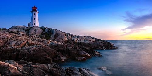 Peggys Cove in Nova Scotia